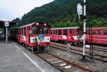 大井川鉄道千頭駅