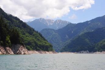 黒部ダム、遊覧船ガルベ