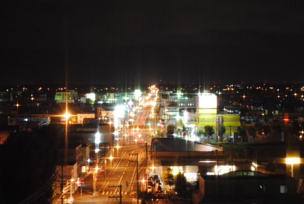 手稲の夜景