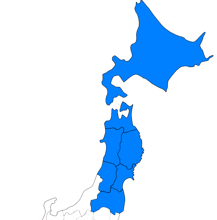 東北・北海道地方プリント
