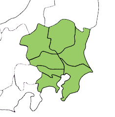 関東地方プリント