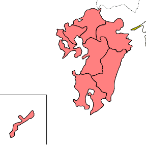 九州地方プリント